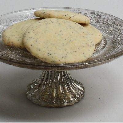Lemon & Poppy Seed Shortbread Biscuits