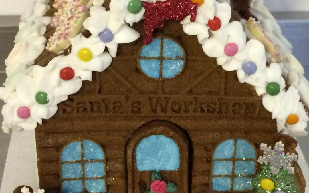 Gingerbread House Decorating Classes December 2017